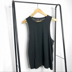 NWT Topshop Black Sleeveless Tank Top